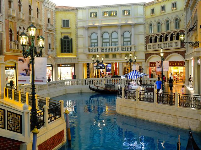 威尼斯人飯店中的運河