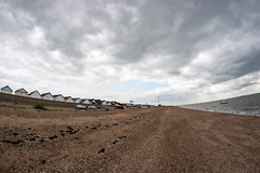 Shoeburyness beach looking west