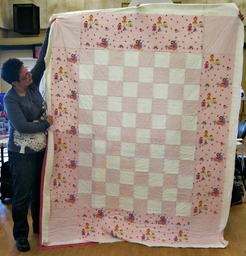 Basted Memory Quilt