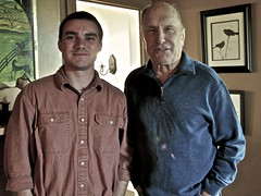 Film shoot w/ Robert Duvall