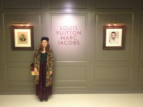 The Louis Vuitton exhibition in Paris
