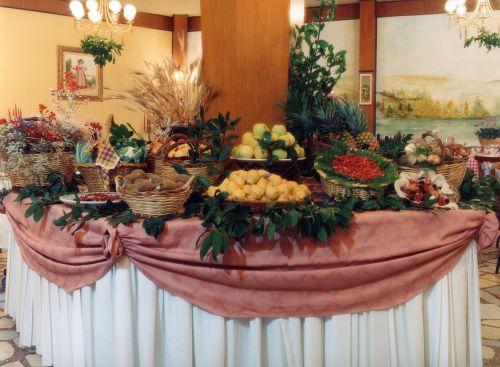 Il buffet del Ristorante Donna Vittoria ad Albano Laziale