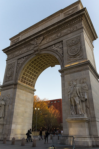 Washington Square Arch.