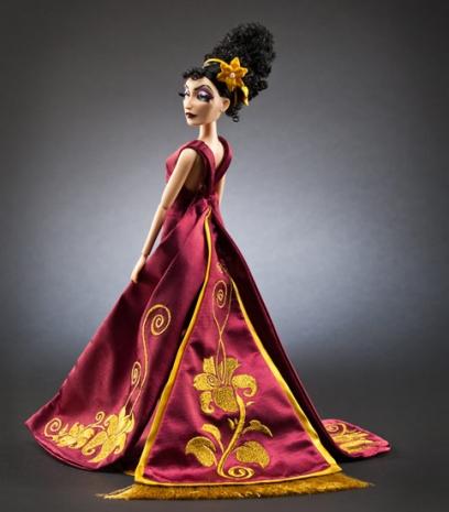 Vilãs da Disney como nunca se viu Mamãe Gothel Rapunzel
