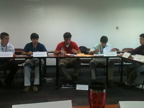 NSLC NSEC Students in National Security Simulation