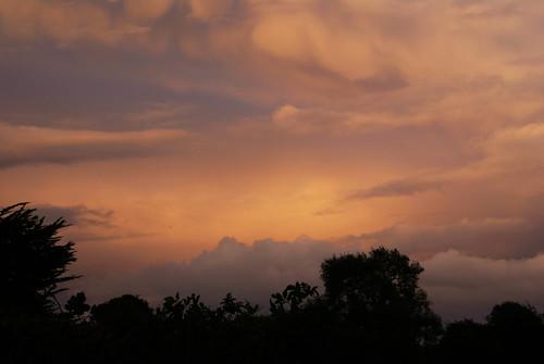 ireland sky clouds moody stormy