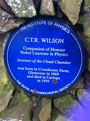Photo of Charles Thomson Rees Wilson blue plaque