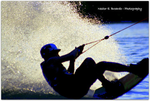 Water skiing 1