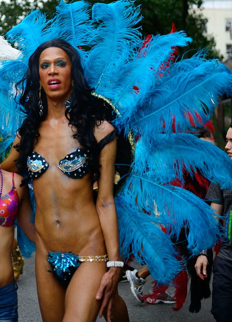 Drag Queens - Scenes from Gay Pride Parade NYC 2012 (Nikon D800 + Nikkor ...