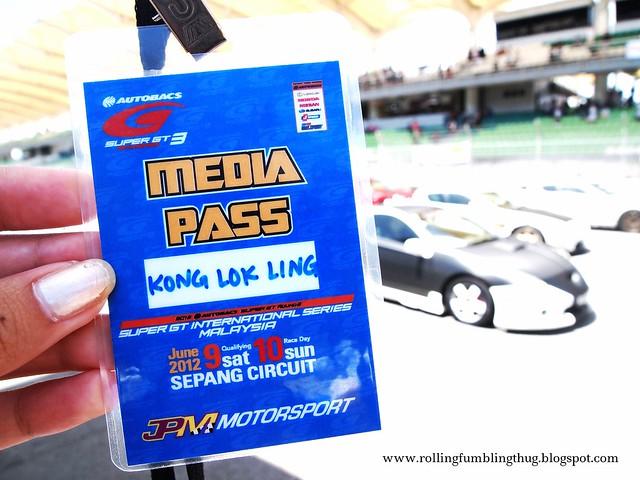 Super GT Media Pass