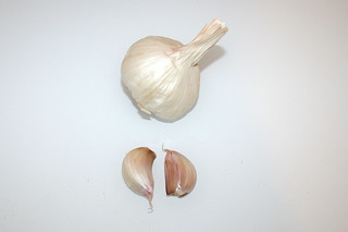 12 - Zutat Knoblauch / Ingredient garlic