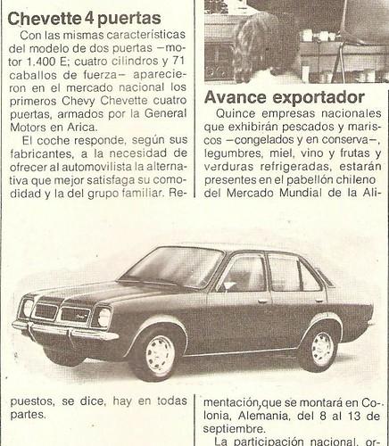 Chevrolet Chevette 1979 Ercilla Ago-Sept