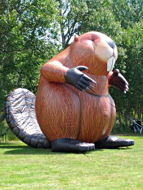 Inflatable Beaver