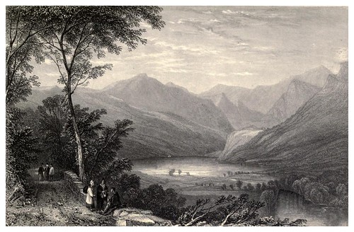 019-Camino a LLyn Gwynant-Wanderings and excursions in North Wales (1853)- Thomas Roscoe