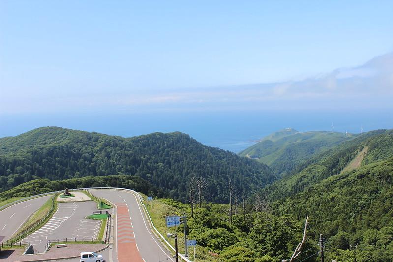 眺瞰台展望からの景色 その1