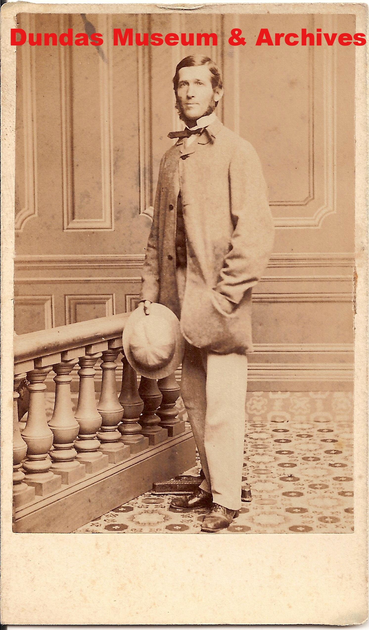 Portrait of Adam Crooks