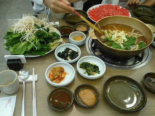 Korean Shabu Shabu