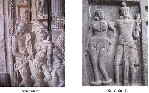 Couples from aihole and Karle
