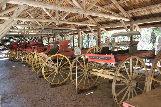 Yosemite National Park: Pioneer Yosemite History Center - Wagons