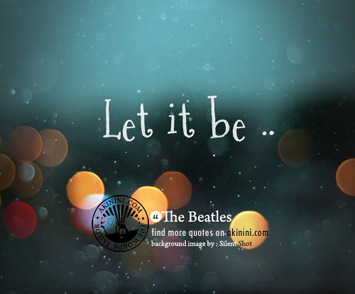 about let it - photo #46