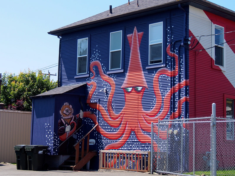 the squid house in Ballard