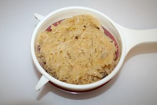 04 - Zutat Sauerkraut / Ingredient sauerkraut