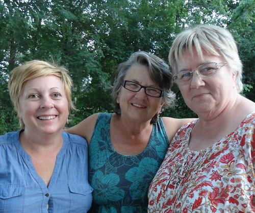 erinn, aunt bonnie and aunt debbie