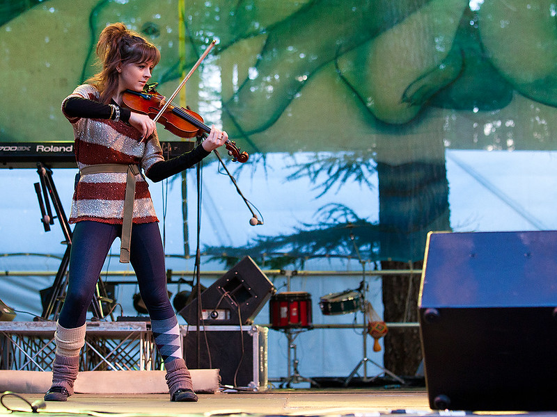 Lindsey Stirling at Celtica 2012 [Cover]