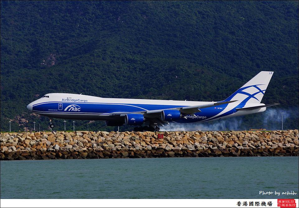 AirBridgeCargo Airlines - ABC / VQ-BLR / Hong Kong International Airport
