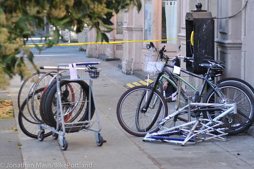 Stolen bikes at drug bust in Old Town-4