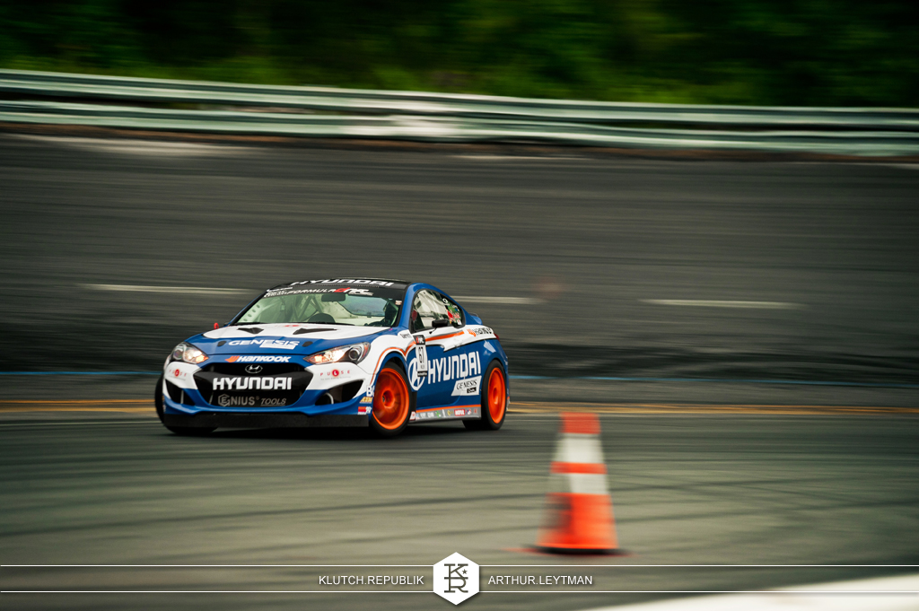 hyundai genesis blue white drifting at formula drift the wall new jersey 3pc wheels static airride low slammed coilovers stance stanced hellaflush poke tuck negative postive camber fitment fitted tire stretch laid out hard parked seen on klutch republik