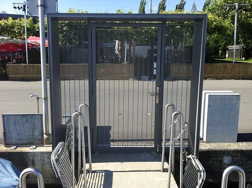 Porte sécurisée Port de Vidy 2