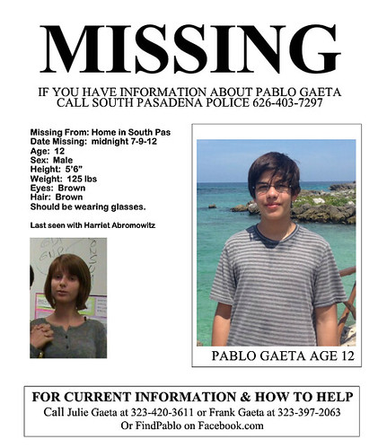Missing Boy Found in Venice Beach