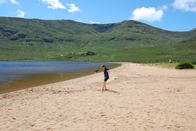 Beach at Loch na Fooey
