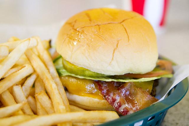 Bacon cheeseburger | Flickr - Photo Sharing!