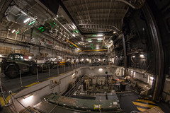 In the bowels of HMS Ocean