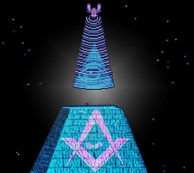Galaga Pyramid