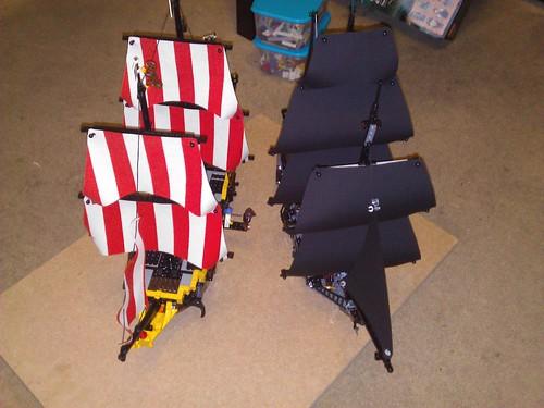Black Pearl and Black Seas Barracuda