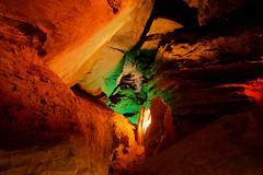 Laurel Caverns: Twin rocks