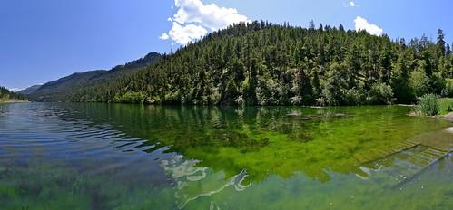 panorama lake canada green yellow landscape britishcolumbia okanagan panasonic lx5 yellowlake nigeldawson dmclx5 jasbond007 copyrightnigeldawson2012