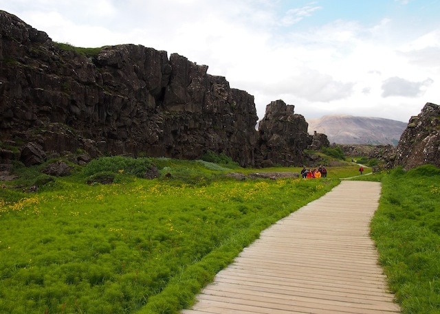 Thingvellir walk
