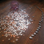 Photo of an Emptied Piggy Bank, by Eden, Janine and Jim