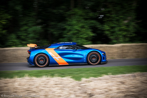 Renault Alpine A110-50 on the 2012 Goodwood Festival of Speed.