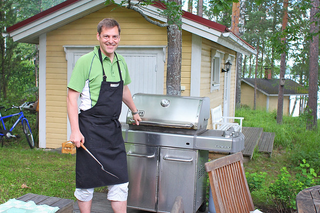 timo and his weber