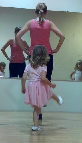 Dance class 7/18/12