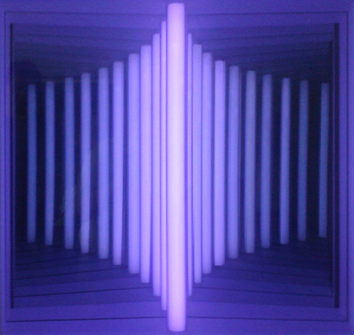 Violet Mirrored Illusion by Phil Manker