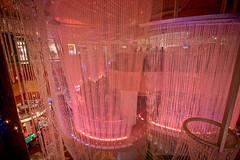 chandeliers at Cosmopolitan Vegas