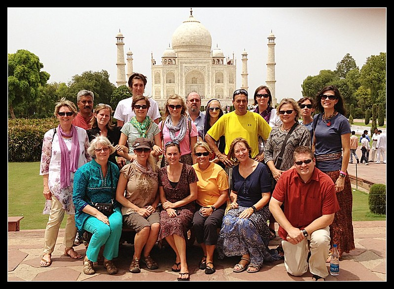 WCSG India Team visits the Taj Mahal