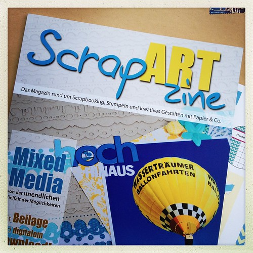 ScrapARTzine Summer 2012