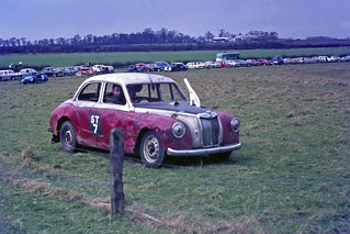 a mid 1950s MG Magnette